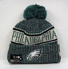 New Era Men's NFL Philadelphia Eagles London Games 2018 Sport Knit Bobble Hat