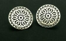 Gate Collection Disc Post Earrings Vintage G2 Sterling Silver The Charleston