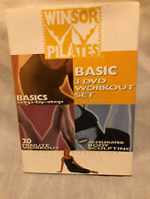 Winsor Pilates, Basic 3 DVD Workout Set, Step by Step, Bonus DVD