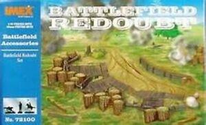 Battlefield Redoubt Plastic Figure Set, Civil War, New