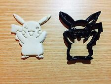 Pikachu Pokemon Cookie Cutter Fondant Cake Decorating Mold gum paste pokemon go