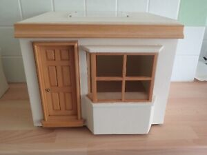 Vintage Twelfth Scale Dolls House Single Storey Bay-windowed Shop Unused