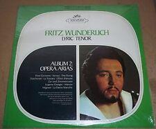 FRITZ WUNDERLICH - Opera Arias Album 2 - Seraphim S-60078 SEALED
