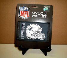 Brand New NFL Dallas Cowboys Full Size Nylon Helmet Logo  Trifold Wallet