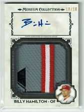 Billy Hamilton 2014 Topps Museum Collection Auto Patch 10/10