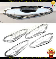 For 2013-2018 Ford Fusion+Edge 4pc Chrome Plastic Inner Door Handle Bowl Covers