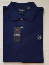 NWT CHAPS BY RALPH LAUREN MEN'S POLO RUGBY SHIRTS, CUSTOM FIT, S, M, L, XL & XXL