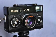 Appareil photo argentique Rollei 35 SE noir + accessoires
