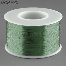 Magnet Wire 32 Gauge AWG Enameled Copper 2450 Feet Coil Winding 155°C Green