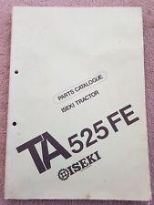 ISEKI TA525FE TRACTOR PARTS CATALOGUE