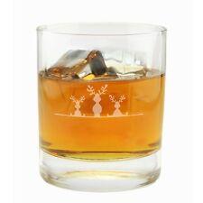 """Whiskyglas """"3 Elche"""" Geschenkidee Pfiffig Weihnachten für Ihn Geburtstag"""