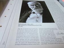 Kaiserreich Archiv N5 5485 Gustav Schmoller 1838-1917 Nationalökonomie