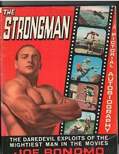 JOE BONOMO The Strongman bodybuilding muscle fitness book autobiography