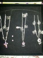 NECKLACE, RING, BRACELET  VALENTINE, BIRTHDAY, WEDDING, MOTHER'S DAY GIFT