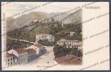 TREVISO VITTORIO VENETO 16 VILLA COSTANTINI Cartolina primi '900
