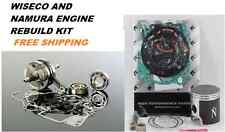KAWASAKI KX 65 KX65 ENGINE REBUILD KIT CRANKSHAFT PISTON GASKETS 2000-2005