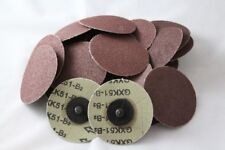 "25pc IIT 3"" Roloc Discs 36 GRIT R Type Sanding Abrasive Roll Lock Coarse 82077"