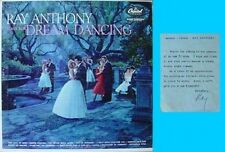 RAY ANTHONY - PLAYS FOR DREAM DANCING - LP + SIGNED MEMO FROM RAY