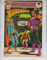 World's Finest 200 F+ (6.5) 2/71 Neal Adams cover! Superman and Robin!