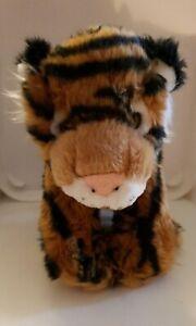 Elka Tiger Plush Toy Soft Toy 20cm Tall 22cm Long