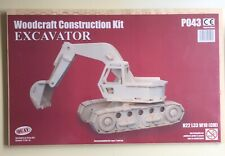 BN 'EXCAVATOR'Woodcraft Construction Kit - P043. Ages 7+