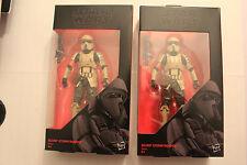 Star Wars The Black Series 2 Scarif Stormtrooper Hasbro 6 inch OVP Army builder