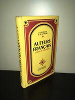 Gendrot & Eustache AUTEURS FRANCAIS Classe de 5e (5ème 5°) HACHETTE 1959 - BC11A