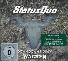 Status Quo - Down Down & Dirty At Wacken   CD & DCD  NEU OVP