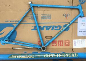 FRAME ONLY Schwinn Continental 54 cm Road Bike Blue USA