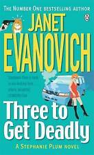 THREE TO GET DEADLY By Janet Evanovich - Brand New