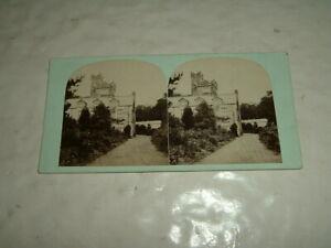 Stereoview Bardsea Hall Ulverston Lancashire Manchester Photo Company Ltd 1860s