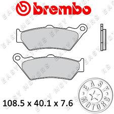 COPPIA PASTIGLIE FRENO BREMBO ANTERIORE KTM LC8 ADVENTURE S / ABS 990 06>