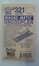 "Code100 Permanent Magnet ""between-the-rails"" Uncoupler - Kadee #321 - free post"