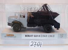 Brekina 1/87 85391 BERLIET GLR 8 camions absetzmulde neutre OVP #2764