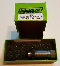 75288 REDDING BODY SIZING DIE - 300 REM ULTRA MAG - NEW IN PACKAGE - FREE SHIP