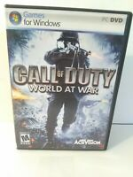Call of Duty: World at War PC Computer Game FREE FAST Shipping Fun War Classic
