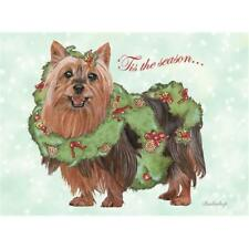 Pipsqueak Productions C728 Silky Terrier Christmas Boxed Cards - Pack of 10