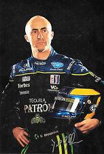 David Brabham SIGNED 12x8  ALMS Team Patron  Portrait  2010