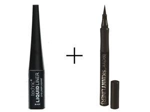 Technic Liquid Eyeliner and Skinny Eyeliner for Perfect Eye Make Up Set