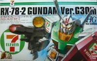 BANDAI HG 1/144 RX-78-2 GUNDAM Ver G30th SEVEN ELEVEN COLOR Plastic Model Kit