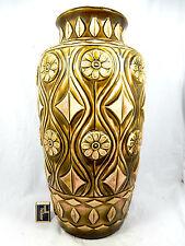 70´s Design XXL Bay in rilievo in ceramica vaso 76 50 in arare Glaze variation