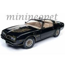 AUTOWORLD AMM1177 1977 PONTIAC FIREBIRD TRANS AM 1/18 DIECAST MODEL CAR BLACK
