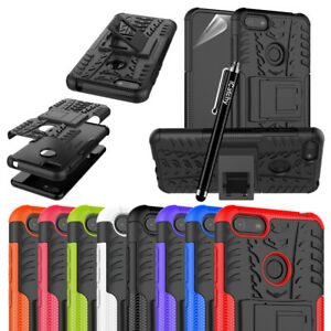For Motorola Moto E6 Play Case Heavy Duty Rugged Shockproof Kickstand Cover