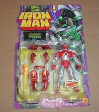 Toy Biz The Crimson Dynamo Action Figure Marvel Comics Iron Man Action Hour MIP