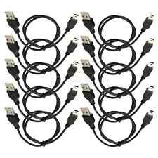 10X 50cm USB 2.0 5-Pin Mini B Male to A Male Data Power Cable for Mp3 Mp4 Camera