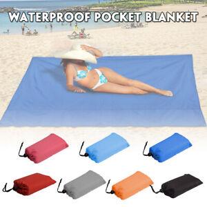 Portable Foldable Waterproof Beach Mat Blanket Outdoor Travel Picnic Camping  K