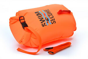 Swim Secure Dry Bag - Safer Open Water Swimming Clothes/Gear Carrier