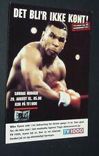 CPA TV1000 BOXE BOXING 1995 MIKE TYSON WBC HEAVYWEIGHT POIDS LOURDS