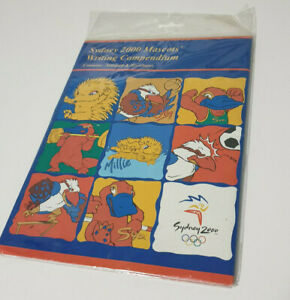 SYDNEY 2000 OLYMPICS MASCOTS WRITING COMPENDIUM CONTAINS NOTEPAD AND ENVELOPES
