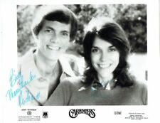 THE CARPENTERS - Signed A&M / Management Issued B/W Promotional Photograph